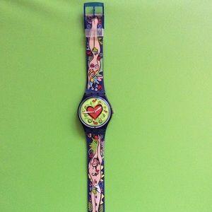 Love Bite Swatch Watch